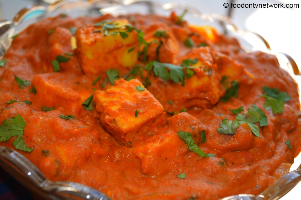 Butter Paneer Masala or Paneer Makhani Recipe in Hindi. Indian Veg Recipes in Hindi.