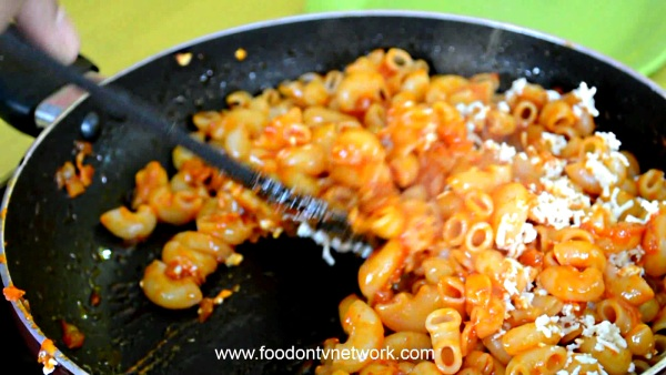 Macaroni Masala Pasta recipe with Paneer in Hindi.