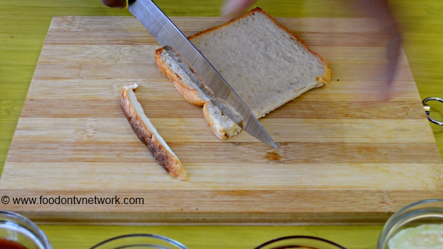 Step by step sandwich recipes with Pictures.