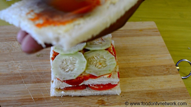How to Make Mayonnaise Sandwich at home.